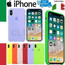 Custodia Cover Silicone Soft Per Apple Iphone 6 6s 7 8 Plus X XS MAX XR 11 PRO