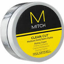 Paul Mitchell Mitch Clean Cut Medium Hold/Semi-Matte Styling Cream 85g UK SELLER