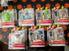 New Lot Of 7 Complete Ghostbusters Classic 1984 Fright Feature 2021 Hasbro Ghost