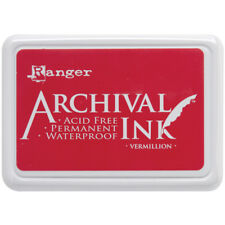 Vermillion Archival Ink Pad RANGER AIP-30461 INK PAD 2-3/4x4 inch NEW