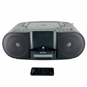 Sony ZS-S3iPN CD Player AM/FM Personal Audio System iPhone iPod Dock ZS-S3iP