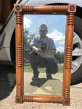 Vintage Reproduction Of Turn Of Century Mirror