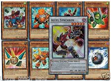 Synchron Explorer 9-Card Set Accel, Junk, Quickdraw, Fleur, Unknown, Turbo Drill