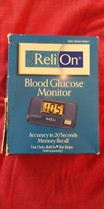 ReliOn  Classic Blood Glucose Monitoring System Meter ~Free Shipping!!!!