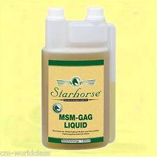 Starhorse MSM-GAG Liquid 1L Dosierflasche Glucosamine Bewegungsapparat Pferde