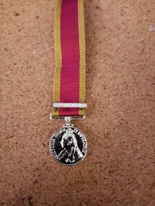 Victorian First China War 1842 Miniature Medal .