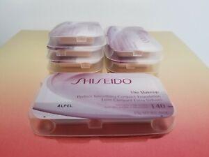 Shiseido Perfect Smoothing Compact Foundation I20 0.5g x 6 packs
