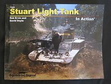 Squadron Book: Stuart Light Tank In Action - 200+ photographs & illustrations