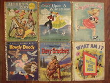 "Little Golden Book Collection, ""A"" First Edition 1949-1955, Set of 6"