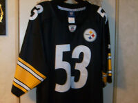 Pittsburgh Steelers Maurkice Pouncey#53 AUTHENTIC On Field Jersey Choice Sz NWT.