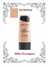 MAX FACTOR LASTING PERFORMANCE FOUNDATION 102 PASTELLE makeup