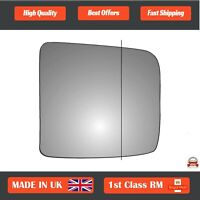 Right Driver Wide Angle Wing Mirror Glass For Nissan Elgrand 1997-2002 638RAS