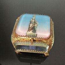 BOITE COFFRET A BIJOUX STE ANNE NAPOLEON III XIXè 19 C VICTORIAN JEWEL BOX