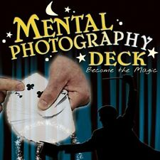 Mental Photography Magic Card Deck - Poker Size Red or Blue Playing Cards