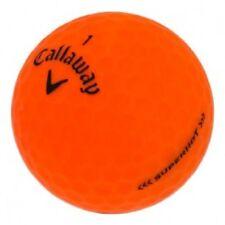 50 Callaway Superhot Matte Red / Orange Near Mint Used Golf Ball Free Shipping