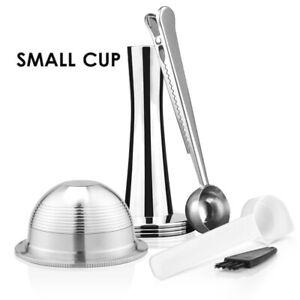 Stianless Steel Reusable Vertuoline Capsule For Nespresso Vertuo GCA1 Coffee Pod