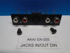 AKAI GX-255 REEL TO REEL JACKS IN/OUT DIN USED