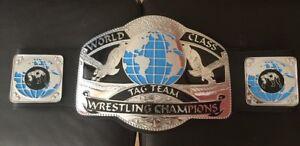 World Class Tag Team Champion Wrestling Replica Belt 4mm top christmas gift
