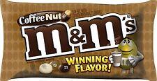 M&M'S Coffee Nut Peanut Chocolate Candy WINNING Flavor 10.20 Ounce Bag