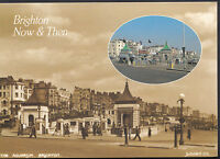Sussex Postcard - Views of Brighton Now and Then  LC4519
