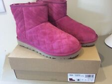 UGG Women's Size 8 Classic Arden Boots Pink NWT new in box