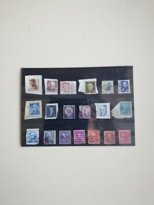A Good Quality Selection Of Used USA Stamps #188
