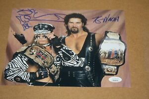 "WWE WWF SHAWN MICHAELS HBK & KEVIN NASH ""DIESEL"" DUAL SIGNED 8X10 PHOTO JSA!"