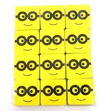 Magnetic Whiteboard Eraser Drywipe Duster Cleaner ***MINION 10 PACK***