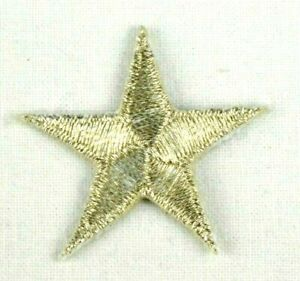 Glitzer Applikation zum Aufbügeln Bügelbild 1-727 Stern silber