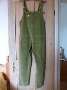 Lucy & Yak Olive Green Corduroy Dungarees. Size M. Pockets. Ethical. SOLD OUT!
