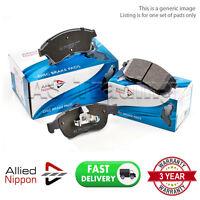 SET OF REAR ALLIED NIPPON BRAKE PADS FOR FIAT LINEA  1.6 D MULTIJET (2009-)