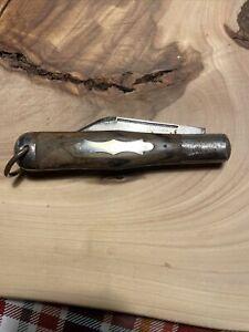 "Vintage Camillus Cutlery New York, Folding Hunter, Coke Bottle Knife 5"" Closed"