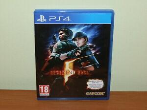 RESIDENT EVIL 5 PS4 PLAYSTATION 4 USATO SICURO VERSIONE ITALIANA