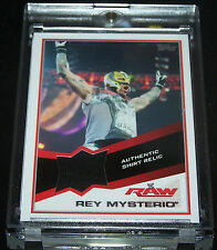 Topps WWE 2013 Trading Card Rey Mysterio Authentic Shirt Relic