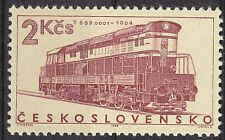TSCHECHOSLOWAKEI  MiNr. 1608 Eisenbahn postfrisch