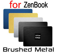 Textured Brushed Metal Skin ASUS ZenBook UX430 UX530 UX430UQ Protector Sticker