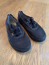 Vans Kids Shoes Size UK 13.5 Black