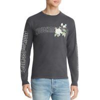 Youth Machine Mens Secret Garden Cotton Graphic Tee Logo T-Shirt BHFO 4205