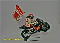 1:12 Bandera Flag Marco Simoncelli 58 to minichamps Very Rare - NEW!!!
