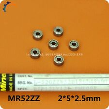 10PCS used miniature toys bearing MR52 / 682ZZ L-520ZZ size 2 * 5 * 2.5mm