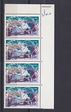 FRANCE  1976   S G  2144   1F 40   VALUE  BLOCK OF 4  MNH  NO F228