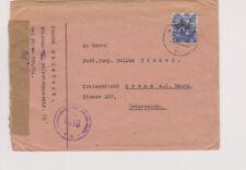 Bizone/Band-red inscripciones, mié. 48ii EF munich 25 (apt). Austria, Österr. trenes de