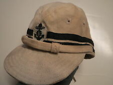 Japanese Navy HAT , WW II  _ Japanese Navy Cap  , Tropical Field Cap  , ww 2 , H
