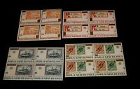 Vintage Stamp,LOT OF 4 PAPUA NEW GUINEA,1973, Blocks, MNH, First Stamp Issues