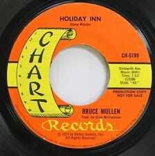 Country Promo 45 Bruce Mullen - Holiday Inn / The Petals Of My Orchids On Chart