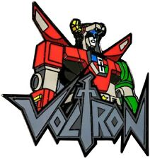 Voltron - Voltron Bust with Logo Enamel Pin-IKO1650-IKON COLLECTABLES