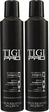 2 x 300ml TIGI PRO Workable Hairspray, Workable Hold Hair Spray