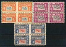 Liberia 1952 Mi. 437-439 MNH 100% Block of four Jehudi Ashmun