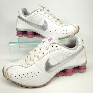 Nike Shox Classic II - 343907 107 - White / Violet - Silver - Womens Size - 7