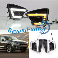 For MAZDA CX-5 2012-2016 LED DRL Front Daytime Running Light Fog Turn Lamp